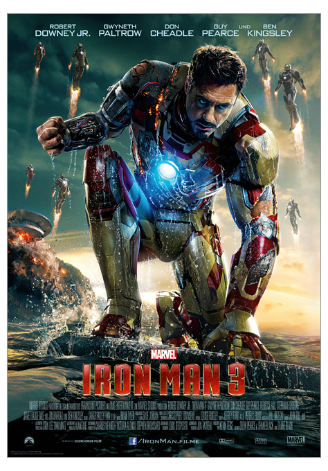 Kinoplakat Iron Man 3