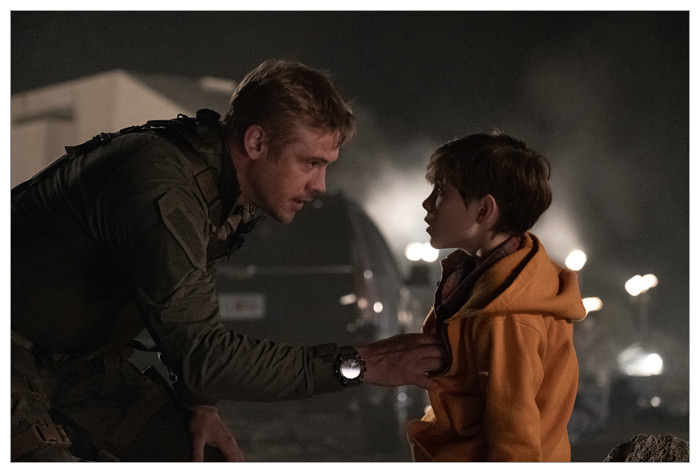 Boyd Holbrook und Jacob Tremblay