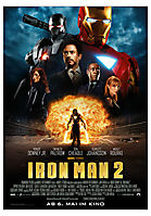 Kinoplakat Iron Man 2