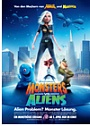 Kinoplakat Monsters vs. Aliens