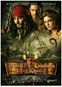 Kinoplakat Pirates of the Caribbean - Fluch der Karibik 2