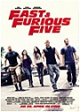 Kinoplakat Fast and Furious Five