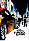 Kinoplakat The Fast and the Furious: Tokyo Drift