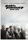 Kinoplakat Fast and Furious 7