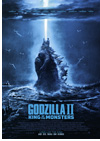 Kinoplakat Godzilla II King of the Monsters