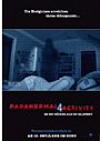 Kinoplakat Paranormal Activity 4